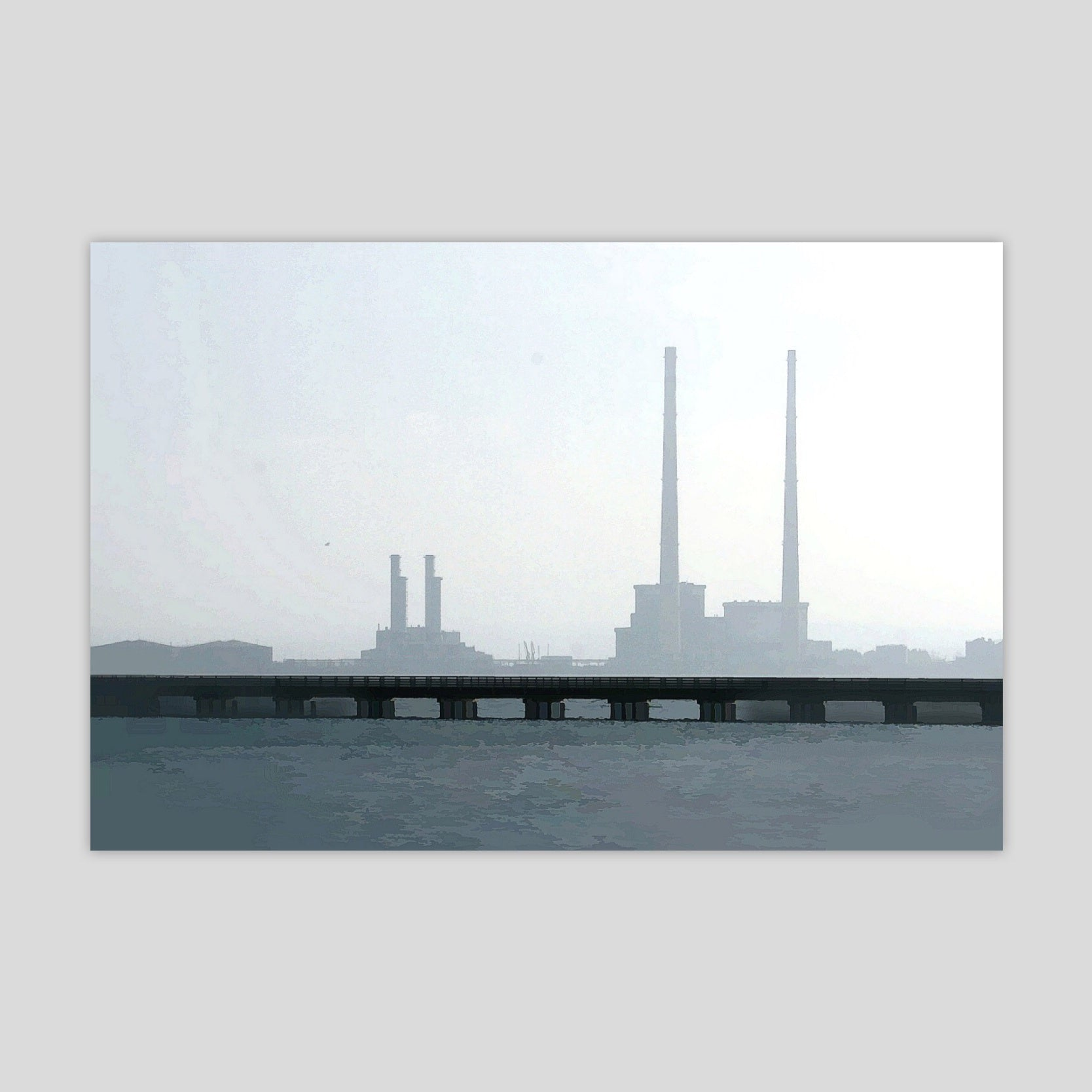 Poolbeg from Dollymount (3041R)