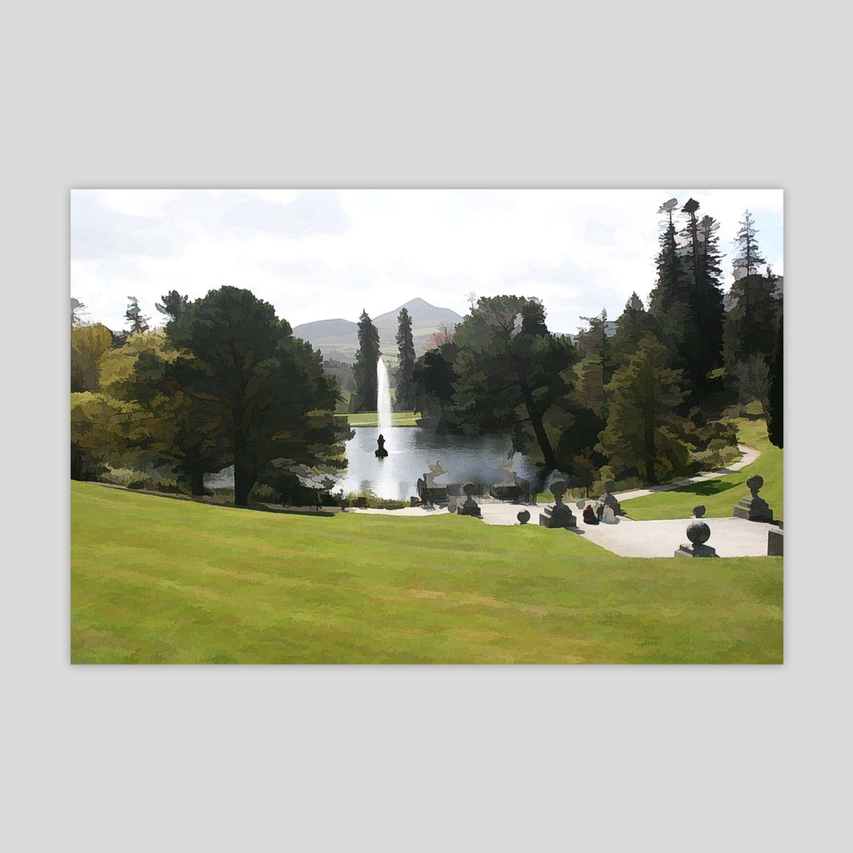 Powerscourt Gardens 2 (3129R-M3)