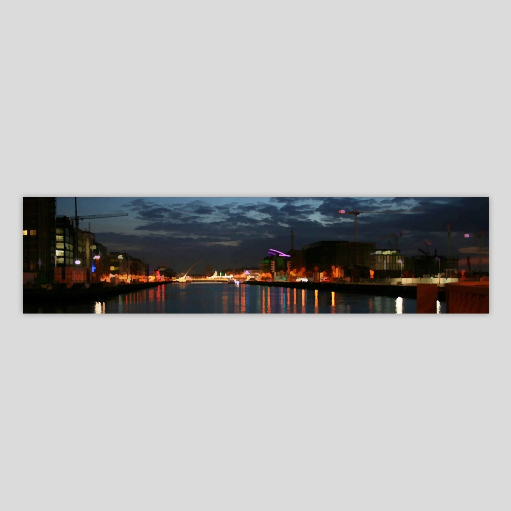 Dublin City Lights 1 (3532P-M3)