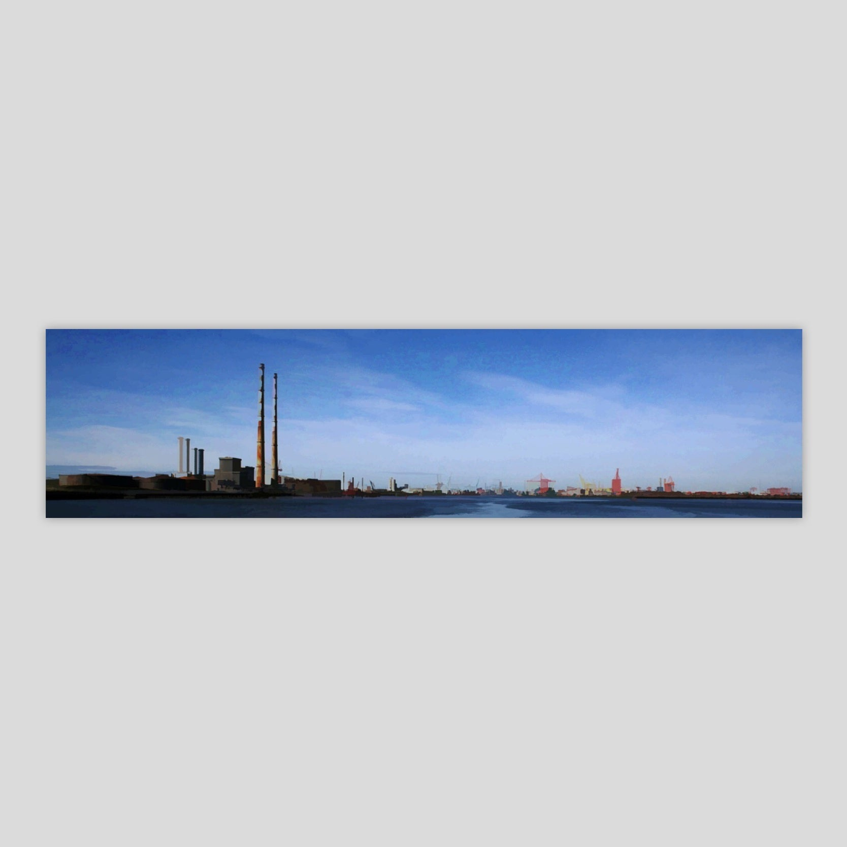 Dublin Port from Poolbeg 2 (3430P-M4)