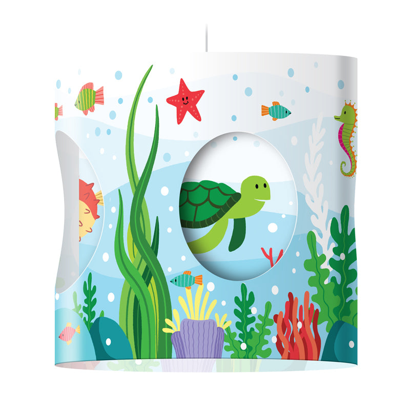 """Under the Sea"" Rotating Lampshade"