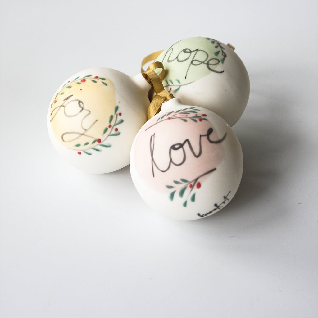 Christmas Bauble - Joy