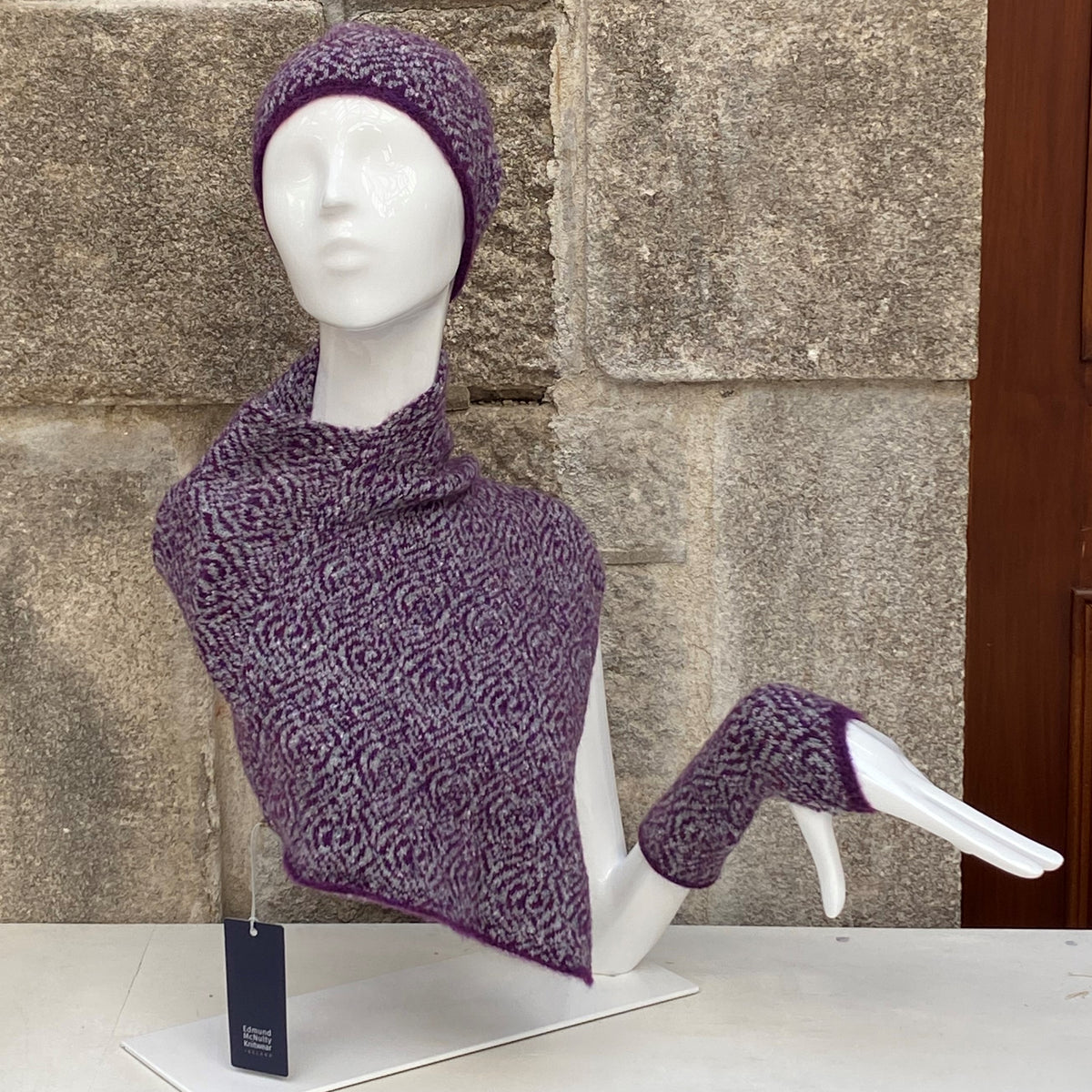 Edmund McNulty Snood - Purple