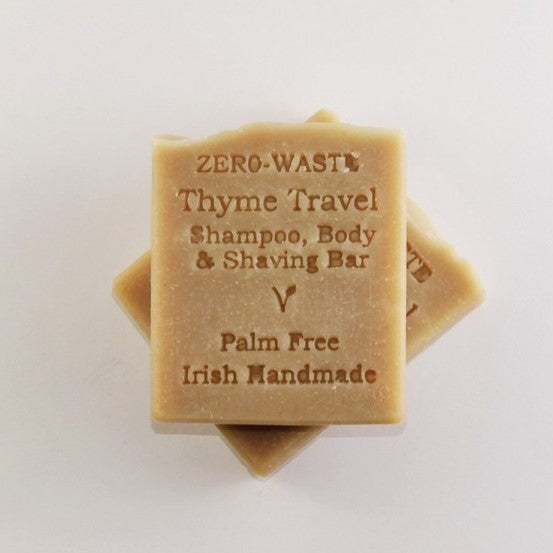Thyme Travel Shampoo/Shaving Bar