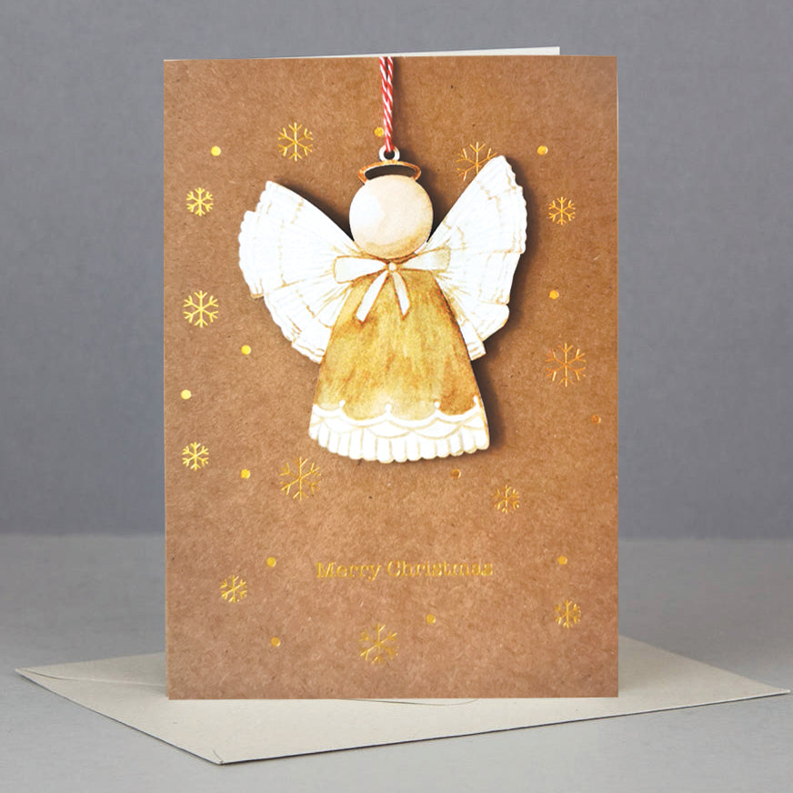 AD Christmas Ornament Card (WHC040)