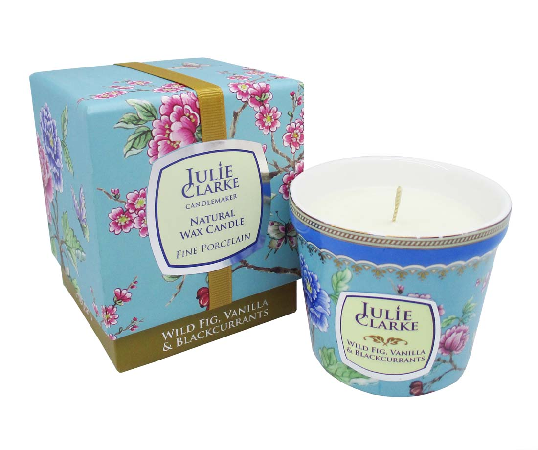 Wild Fig, Vanilla and Blackcurrant  Botanic Candle