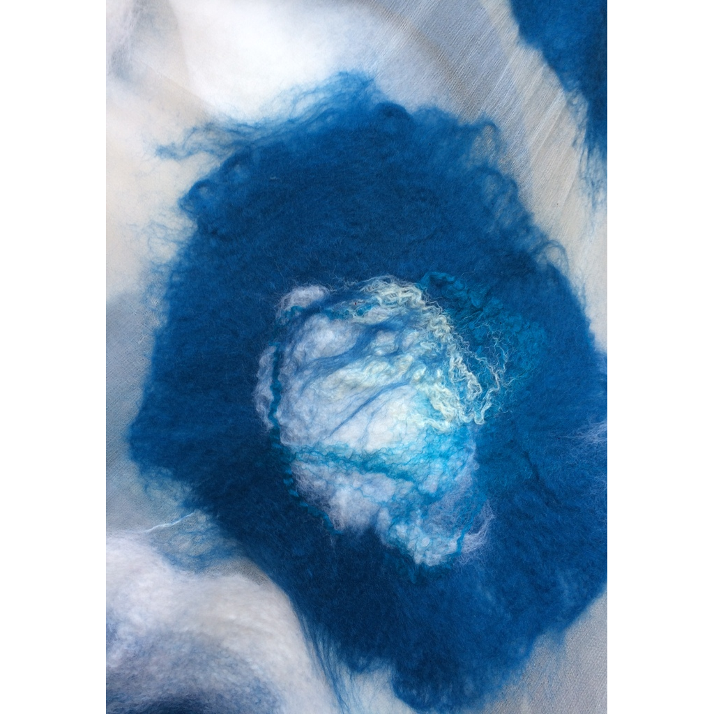 'Winter Breeze' Luxury Handmade Scarf