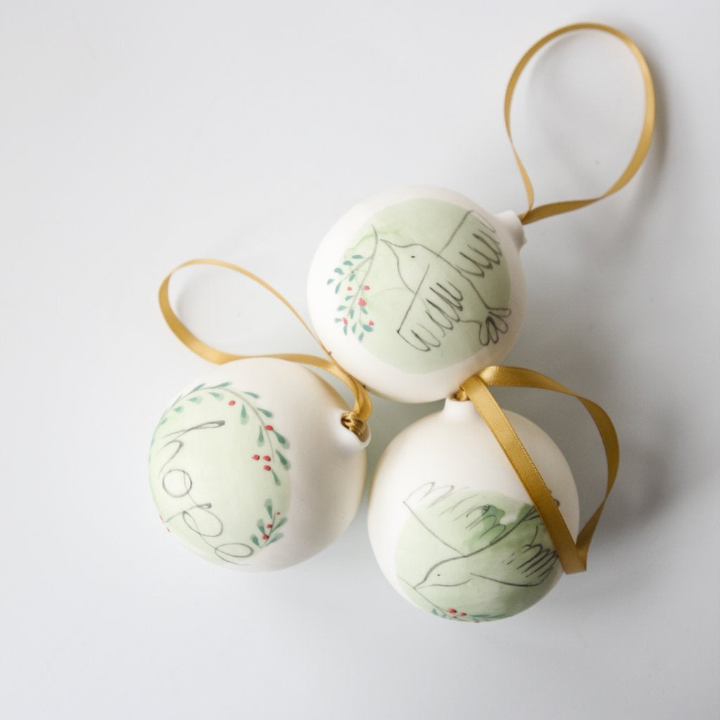 Christmas Bauble - Hope