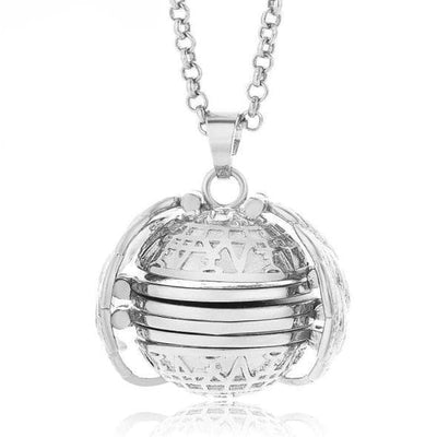 Expanding Photo Locket Necklace Memorial Gifts