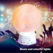 CUSTOM 3D BLUETOOTH SPEAKER MOON LIGHT
