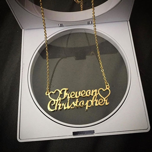 Double Name Necklace