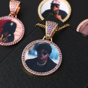 Custom Made Photo Medallions Necklace