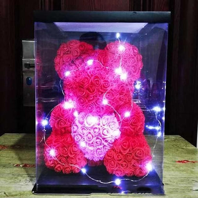 Luxury BIG LED Rose Bear : 2020's Best Valentine's Romantic Gift