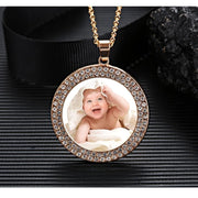 Personalized Memorial Medallion Necklace