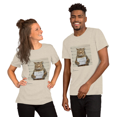 Bitcoin Cat Shirt