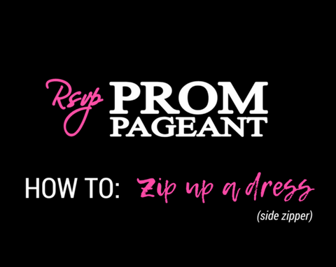HOW TO: Zip up a Dress (Side Zipper)