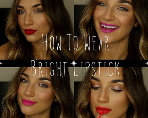 How To Wear Bright Lipstick - PART 1