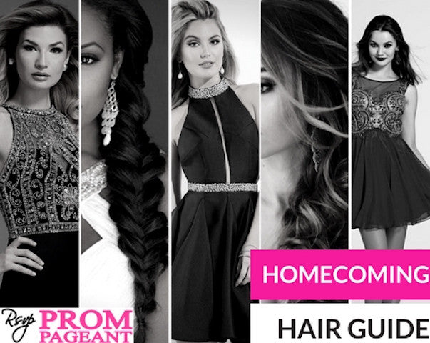 RSVP Homecoming Hair Guide