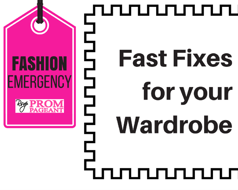 Fashion Emergency: Fast Fixes for Your Wardrobe
