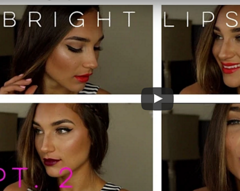 How To Wear Bright Lipstick - PART 2