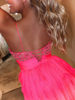 "Hot Pink Short Fun Fashion Dress - USE ""OMG50"" FOR AN ADDITIONAL 50% OFF"
