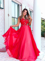 Model looking so elegant in this one shoulder dress featuring beautiful details on the bodice and at the waist of the full chiffon skirt. And it's at Rsvp Prom and Pageant, your source of the HOTTEST Prom and Pageant Dresses and exclusive evening gowns and located in Atlanta, Georgia!
