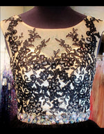 Black/Nude Lace Short Dress (SALE) - Rsvp EP - Short Dress - Rsvp Prom and Pageant Atlanta, Georgia GA - 4