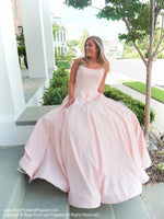 Sitting Model in this absolutely sweet and stunning ball gown perfect for pictures and dancing the night away! And it's at Rsvp Prom and Pageant, your source for the HOTTEST Prom and Pageant Dresses and exclusive evening gowns and located in Atlanta, Georgia!