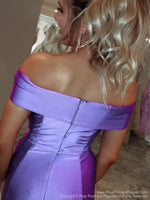 Closeup of back of model And it's at Rsvp Prom and Pageant, your source for the HOTTEST Prom and Pageant Dresses and Exclusive Evening Gowns and located in Atlanta, Georgia!