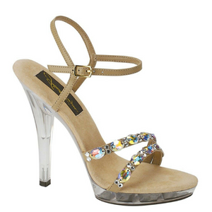 Strappy Crystal Studded Heels / Rsvp Prom and Pageant, Atlanta, GA / Best Prom Store in Atlanta / #Promheaven