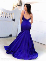 Back of Model in this super elegant mermaid gown with a visible metal zipper and perfect for PROM! And it's at Rsvp Prom and Pageant, your source for the HOTTEST Prom and Pageant Dresses and exclusive evening gowns and located in Atlanta, Georgia!