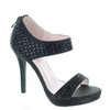 Rhinestone Black Heels / Rsvp Prom and Pageant, Atlanta, GA / Best Prom Store in Atlanta / #Promheaven
