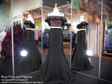 Black Off The Shoulder Two Piece Mermaid Prom Dress 118EC0180650 / Rsvp Prom and Pageant / Best Prom Store in Atlanta / #Promheaven