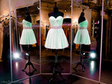 Mint Sweetheart Softly Pleated Homecoming Dress - Rsvp JV - Short Dress - Rsvp Prom and Pageant - 2