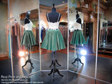 Ivory/Emerald Two-piece Short Homecoming Dress - Rsvp DJ - Short Dress - Rsvp Prom and Pageant - 4