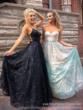 Champagne Ombre Strapless Sweetheart Neckline Prom Dress
