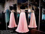Blush/Pink Chiffon Prom Dress-Sweetheart Neckline-116CLAR027150 - Rsvp EC - Long Gown - Rsvp Prom and Pageant - 3