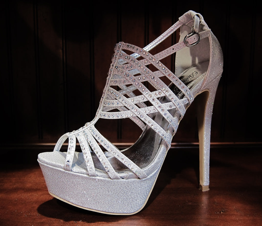 a65b203831a914 SILVER BLING Shoes