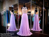 Lilac Open Back Prom Dress / Rsvp Prom and Pageant, Atlanta, GA / Best Prom Store in Atlanta / #Promheaven