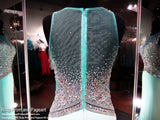 Mint Illusion Beaded Bodice High Neck Prom Dress - Rsvp BP - Long Gown - Rsvp Prom and Pageant Atlanta, Georgia GA - 4