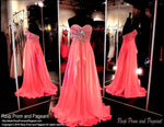 Pomegranite Strapless Prom Dress / Rsvp Prom and Pageant, Atlanta, GA / Best Prom Store in Atlanta / #Promheaven