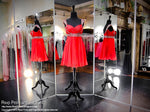 Red Chiffon Sweetheart Homecoming Dress (SALE) - Rsvp DJ - Short Dress - Rsvp Prom and Pageant Atlanta, Georgia GA - 4