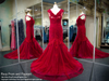 Red Lace PLUS High Neck Mermaid Prom Dress / Rsvp Prom and Pageant, Atlanta, GA / Best Prom Store in Atlanta / #Promheaven