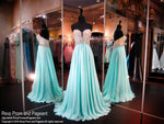 Seamist Sweetheart Strapless Ombre Top Chiffon Dress - Rsvp BP - Long Gown - Rsvp Prom and Pageant Atlanta, Georgia GA - 1