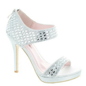 Rhinestone Silver Heels / Rsvp Prom and Pageant, Atlanta, GA / Best Prom Store in Atlanta / #Promheaven