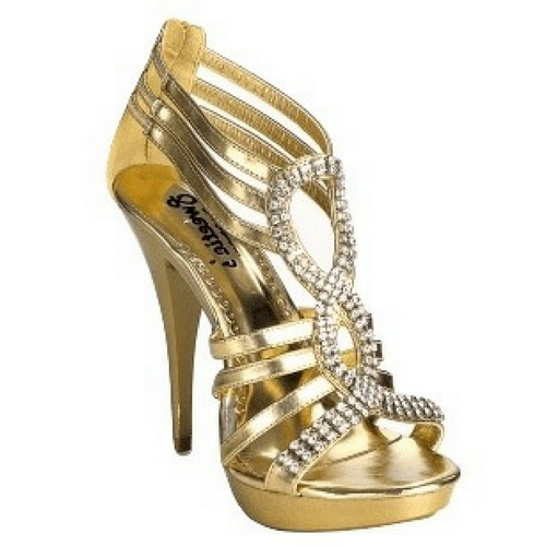 Strapped Open Toed Bejewled Heels / Rsvp Prom and Pageant, Atlanta, GA / Best Prom Store in Atlanta / #Promheaven
