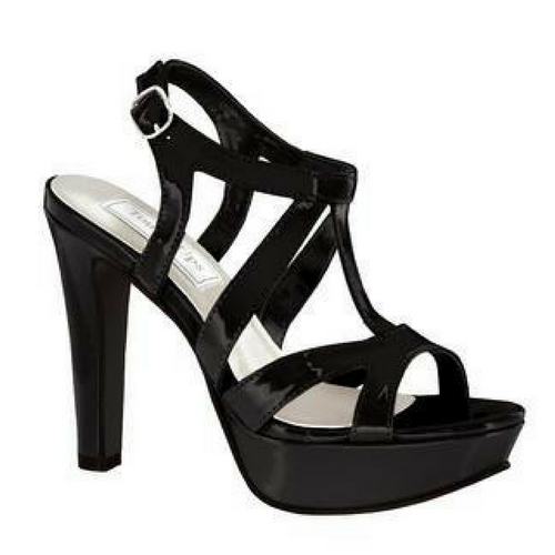 Simple Classy Strappy Black Heel with Platform / Rsvp Prom and Pageant, Atlanta, GA / Best Prom Store in Atlanta / #Promheaven