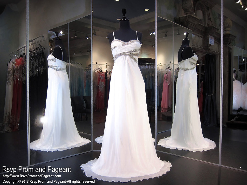 White Sweetheart Prom Dress (SALE) – Rsvp Prom and Pageant
