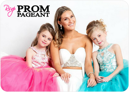 Children's Gift Card / Rsvp Prom and Pageant, Atlanta, GA / Best Prom Store in Atlanta / #Promheaven