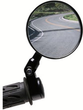 Load image into Gallery viewer, Oberon Adjustable Handlebar Clamp Mirror 75mm
